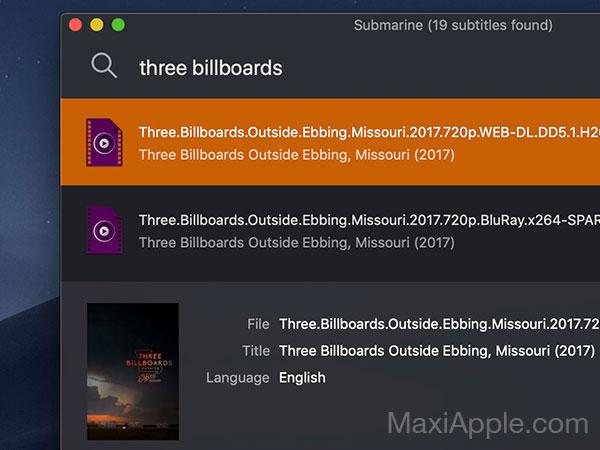 submarine macos mac gratuit 02 - Submarine Mac - Trouver les Sous-Titres de Films / Séries TV (gratuit)