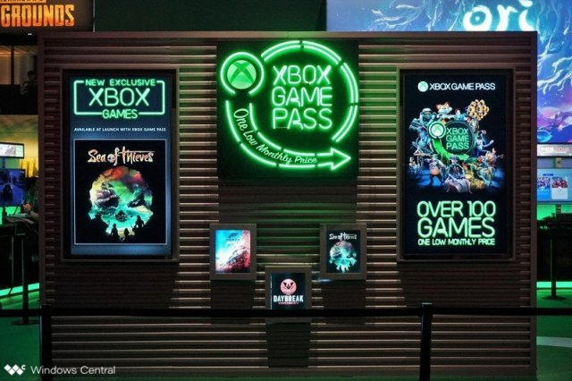 Xbox Game Pass Booth