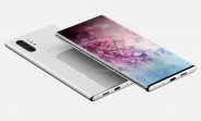 Samsung Galaxy Note10 Pro renders show off punch hole display and quad camera