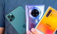 Mate 30 Pro vs. iPhone 11 Pro vs. Galaxy Note10+ camera compare