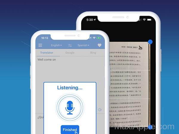 translate king translator iphone ipad gratuit 02 - Translate King iPhone iPad - Traducteur Photo, Texte et Voix (gratuit)
