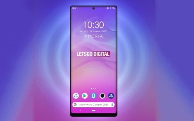 Upcoming Sony Xperia phone may come with a punch-hole display