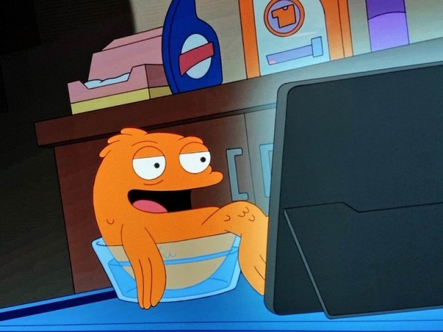 Surface Pro on American Dad