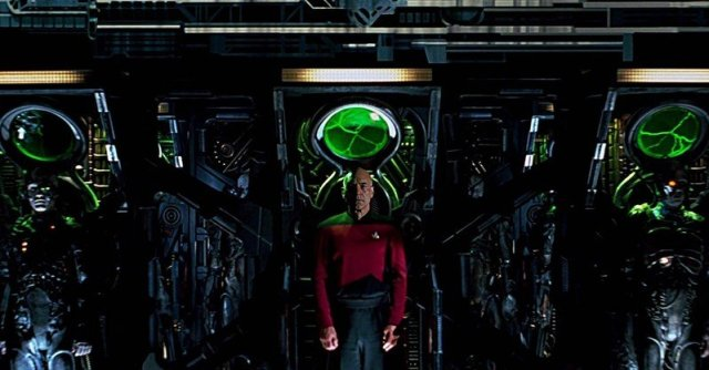 Picard in a Borg cube