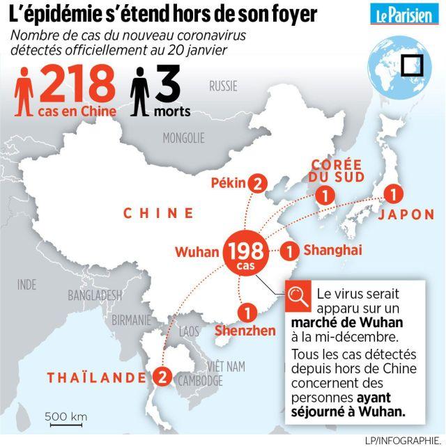 Coronavirus : en France, la vigilance face au mystérieux virus chinois est activée