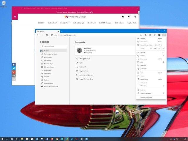 Microsoft Edge Chromium best features for Windows 10