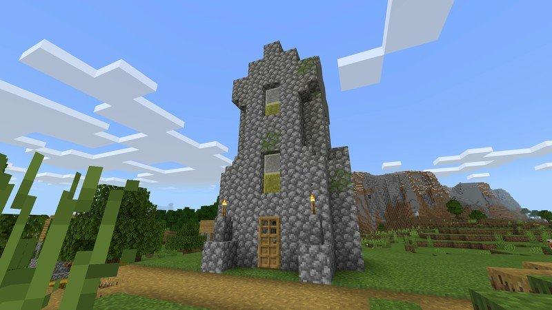 Tis a building