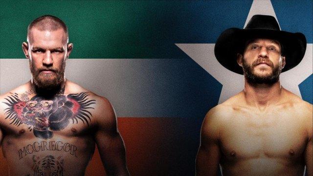 UFC 246 McGregor vs Cowboy Promotional Banner