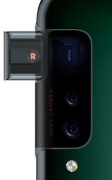 Oppo side mounted pop-up cam design