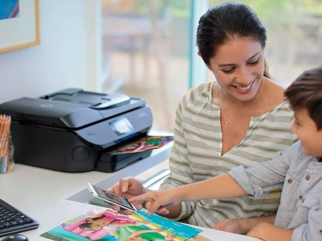 HP ENVY Photo 7855 All-in-One Printer lifestyle image