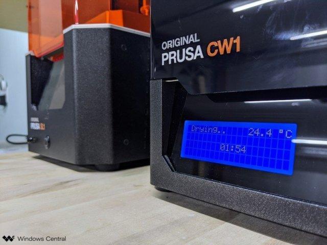 Prusa CW1 and SL1