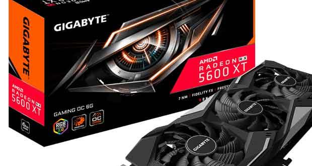 Carte graphique Radeon RX 5600 XT Gaming OC de Gigabyte