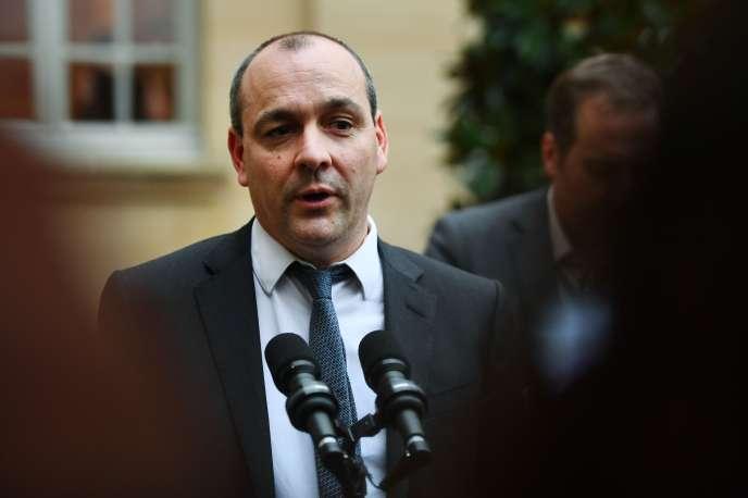 Le dirigeant de la CFDT, Laurent Berger, le 10 janvier à Paris.