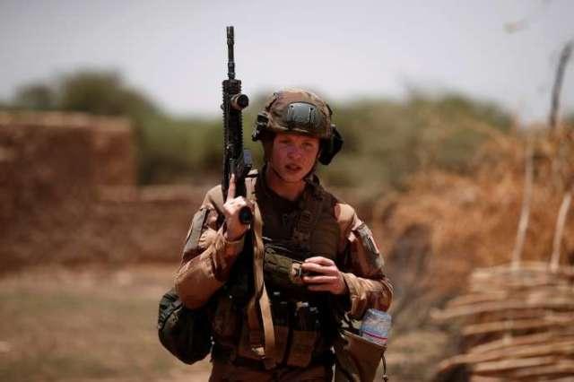 Militaire français à Ndaki, au Mali, le 27juillet 2019.