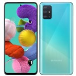 Samsung Galaxy A51 in Prism Crush Blue color