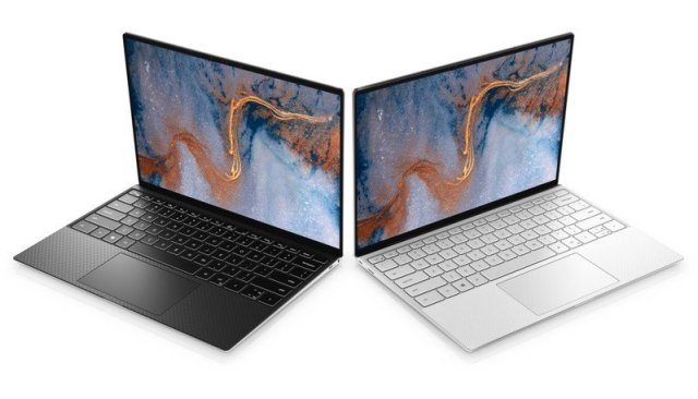Dell XPS 13 black and white