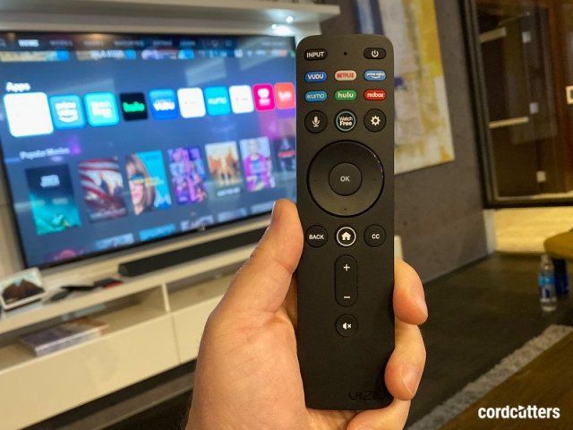 Vizio's new remote control
