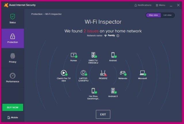 screenshot network scan