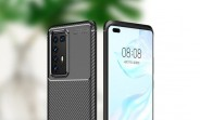 Images of Huawei P40 Pro case show a penta camera on the back, flat screen on the front