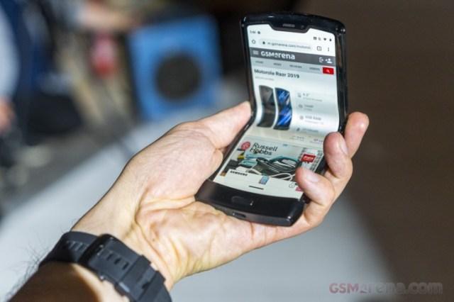 Motorola's foldable Razr is slightly delayed because of high demand