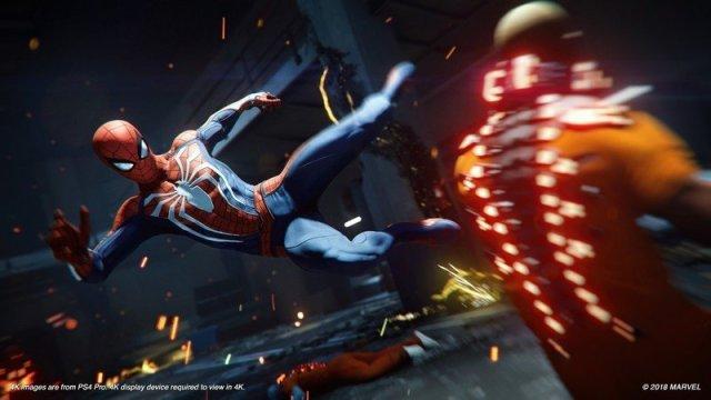 Marvel's Spider-Man PS4 Pro
