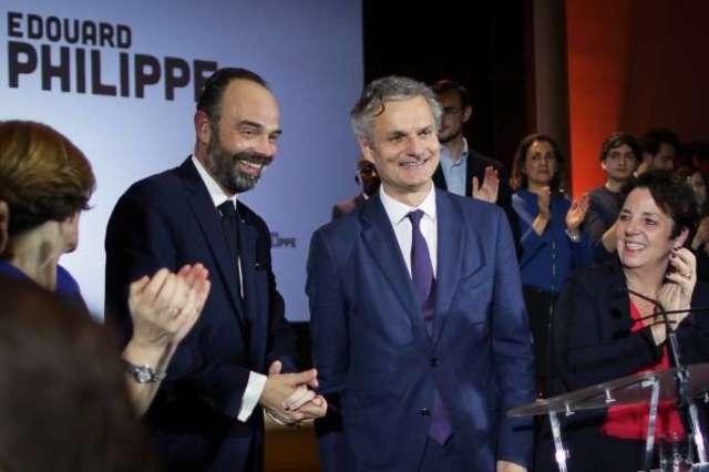 Edouard Philippe lors de l'annonce de sa candidature à l'élection municipale au Havre (Seine-Maritime), le 31 janvier.