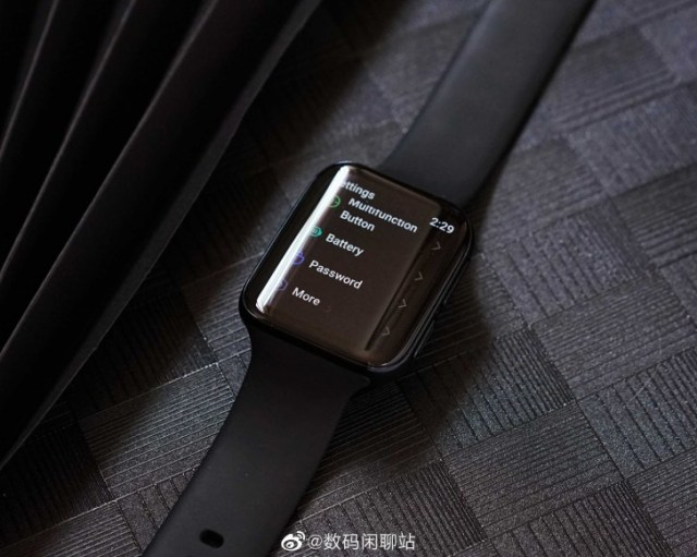 First live image of Oppo smartwatch reveals Google Wear OS