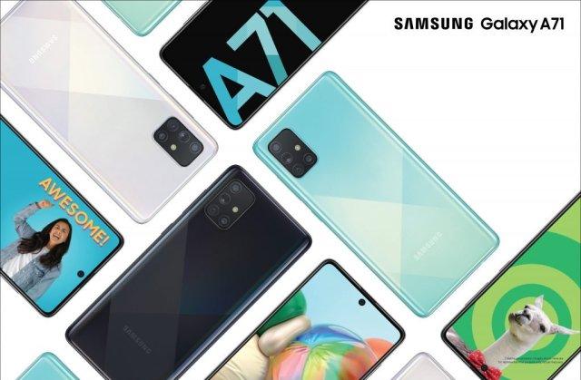 Samsung Galaxy A71 India
