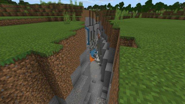 Minecraft ravine