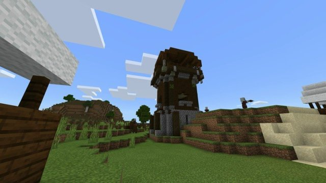 Minecraft pillager outpost