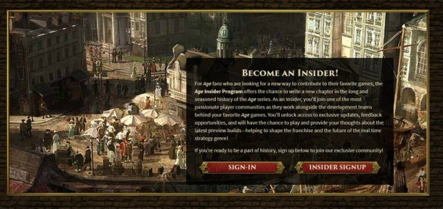 Age of Empires Insider