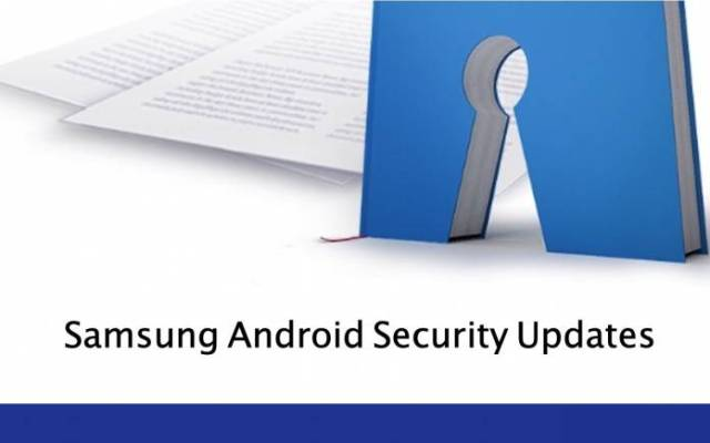 Samsung Android Security Updates
