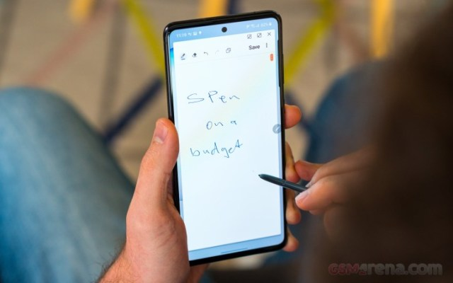 Our Samsung Galaxy Note10 Lite video review is out