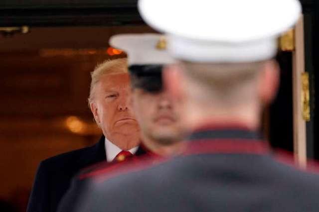 Donald Trump à la Maison Blanche à Washington, le 5 février.