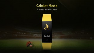 Realme Band will come with India-centric Cricket Mode