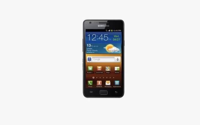 Samsung Galaxy S II Android 10