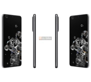 Samsung Galaxy S20 Ultra in Cosmic Gray