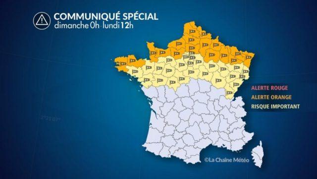 Pas de tempête en Seine-et-Marne mais des vents forts
