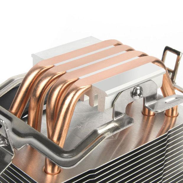 Ventirad Argon AR12 RGB de SilverStone