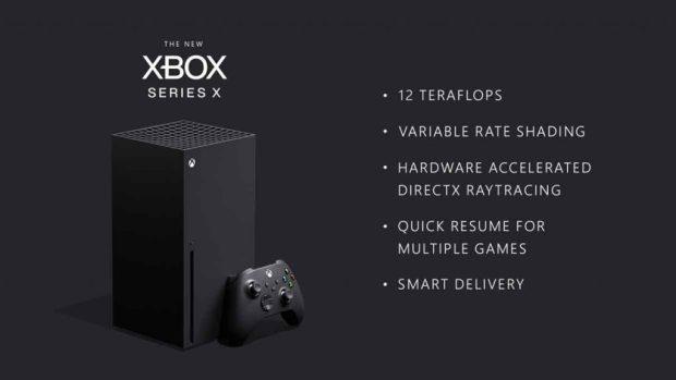 Console Xbox X de Microsoft