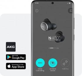 Smartphone app to adjust the settings