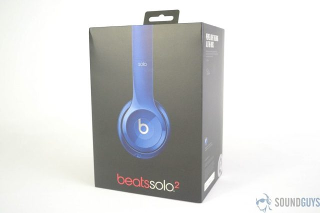 Pictured is the case of the Beats Solo 2 headphones on a white background.