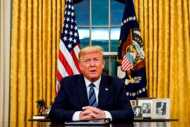 Donald Trump, à Washington, le 11mars.