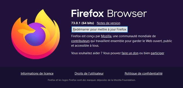 Firefox74: plus de sécurité, moins de tracking