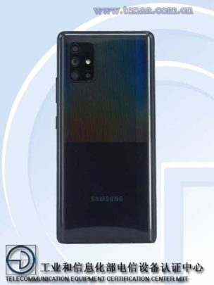 Samsung Galaxy A71 5G Camera