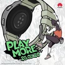 Huawei Watch GT 2e promo posters