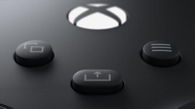 Xbox Series X Controller Share Button