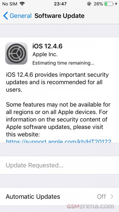 iOS 12.4.6 released for iPhone 5s, 6 and older iPads