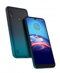 Motorola E6s in Peacock Blue