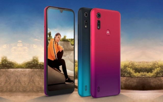 Motorola unveils a new Moto E6s with 6.1'' HD screen for the entry-level market